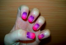 Paznokciowe Bazgroły / Wzory na paznokcie wykonane w 100% przeze mnie :)