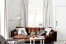huiskamer bruine style
