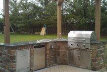 OUT DOOR KITCHENS BARBECUE / Garden barbecues