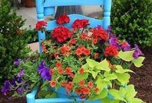 stolička vyzdobený