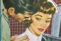 Nursing a Romance / Featuring cool book covers of all those old romance books.
