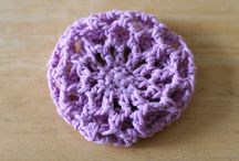 hair bon covers knitted