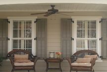 Exterior House Shutters Ideas