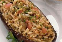 merenjena rellena con arroz
