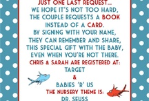 Baby Shower Ideas / Baby shower theme: Horton Hears A Who / by Katie Lyons