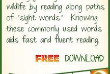 sight words / by Sari Pfennig