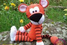 Тигр игрушки