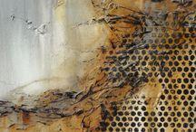 maleri og collage / maleri og collage