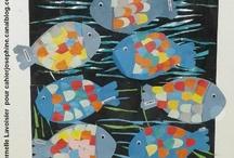 Plouf, dans l'eau (de l'école) ! / by Sophie Yahlala