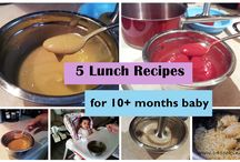 10+ & 11+ months baby food recipes
