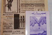 Publicaciones en periódicos y revistas (Patricia Nasello) / Publicaciones en periódicos y revistas nacionales (argentinos) y extranjeros