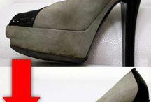 Limpiado de zapatos