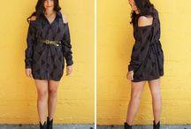 Φορεμα απο πουκαμισο !!!