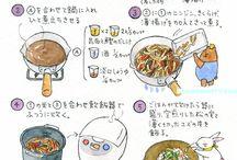イラストレシピ