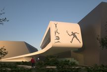 Tennis, sport and swimming center in Groznij designed by 4D Architects