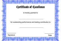 Blank Certificate Templates / Free Blank Certificate Templates to Download