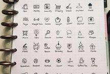 decorations /icons/bullet jornual
