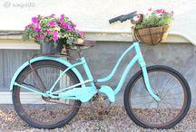 painted bikes