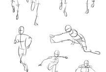 Human sketching