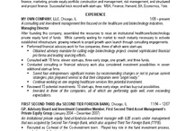 How to Transform a Resume - Part 7A / Transformed resume. Two page format - first page.