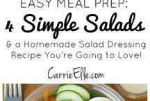 Salads / by Mary Fleshman