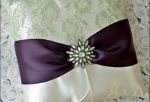 Wedding ring pillow
