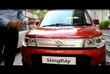 Maruti Stingray / Maruti Stingray launch and full feature interior and exterior review and rating in HIndi