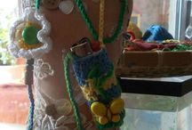Handmade knitted ''case'' / Πλεκτές Θήκες για Αναπτήρες.Δια χειρός