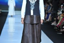 Jakarta Fashion Week 2013-2014 / Hannie Hananto collection Black and white