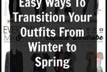 Vintertøj til forårstøj