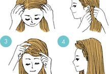 Vlasy / účesy, ozdoby