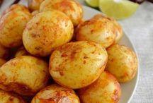Patatas al chile y limón