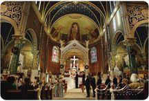 church ceremonies / we love the drama of classic church wedding