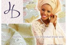 HeDee's Opulent Brides / Aso Ebi - Coordinated group outfits A tribute to traditional glamour and the personal bond you share with your guests.  http://hedee.at/collections/opulent-brides/