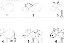 Aprender a dibujar/ How to draw
