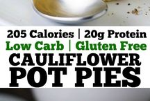 healthy food pot pies