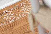 Floor stencil inspirations / Inspirációk padló stencilezéshez / Floor stencil inspirations / Inspirációk padló stencilezéshez
