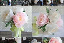 Papierblumen