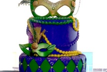 collin's mardi gras cake