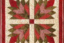 Patchwork vzory - cleopatra