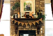 For the home - Fireplace / by Michelle Bingham Fitzwater