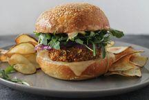 Plant-based Burgers & Sandwiches
