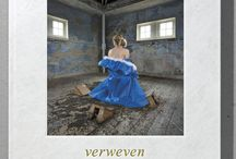 Boek Verweven / Verweven ~ Raw beauty is the latest book by Barend Houtsmuller This fine-art photographic work shows the most extraordinary photographs over the past five years created with textile Artist Lia Luijendijk Language: Engels- and Dutch Design: Kees Kuil  Size: 24,5 x 28,5 x 1,5 cm / 80 pages hard cover with original print on the cover / limited edition 500  / ISBN 978-90-822328-0-6  Price € 29,50 shipping cost €5,- in the Netherlands Order this book directly by Barend Houtsmuller