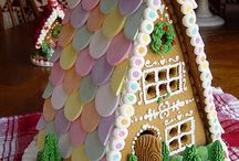 Gingerbread Houses / A lovely way to celebrate Christmas. Have a look at C&C Digital Advent calendar http://www.ccht.org.uk/digital-advent-calendar
