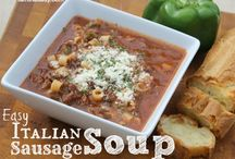 Soup Recipes / Soup recipes, chowder, bread bowls / by Tara {A Spectacled Owl}