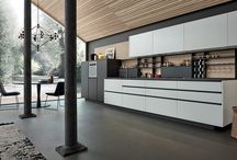 My Planet Kitchen / Strong graphic elements strike a visual balance between lightness and colour.
