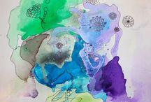 Paintings 2 by JWL / Art by Jeanette Wetterstein Larsen www.jeanettewettersteinlarsen.com
