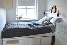 Soveværelse lille rum