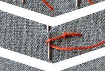 Техника вышивки, стежки