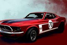 Mustang artwork
